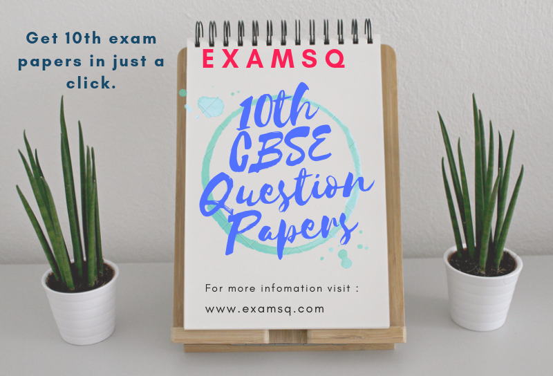 10th CBSE Question papers