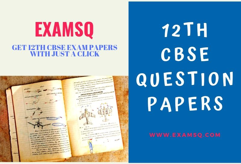 12th CBSE Question papers